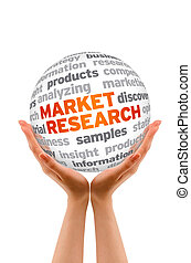 Market Research - Hands holding a Market Research Word...