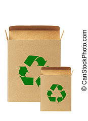 recycled paper box