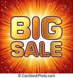 Big sale message. EPS 8