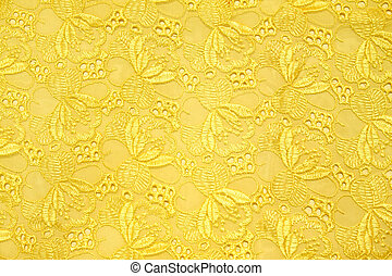 Retro gold textile for background