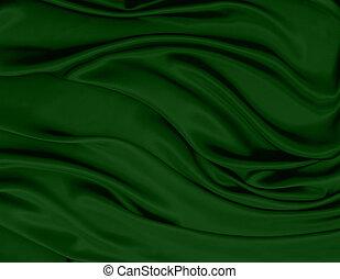 abstract green royal fabric