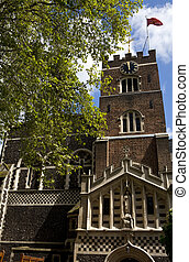 St. Bartholomew-the-Great Church in London - The historic...