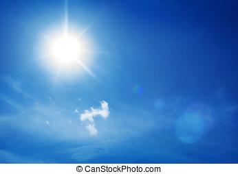 sky - real midday sun