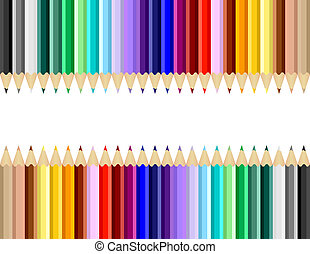 Color Art Pencils Background