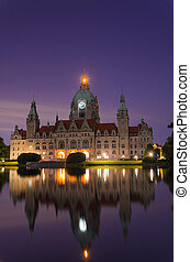 City Hall of Hannover, Germany by n