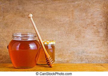 natural, miel