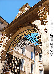 Aix en provence south of France - Historical building in the...