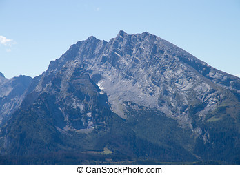 Watzmann - The Watzmann, the third highest mountain in...