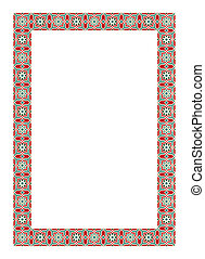 Arabesque border frame