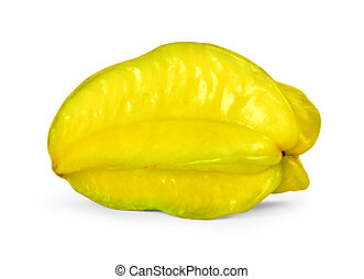 carambola fruit - Close up view of the carambola on the...