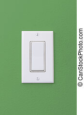 Wall Light Rocker Switch - Electrical white rocker light...