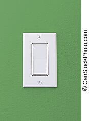 Wall Light Rocker Switch - Electrical white rocker light...