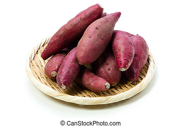 japanese sweet potato - Cooking ingredient series japanese...