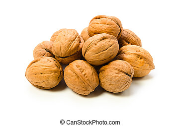 walnut - Cooking ingredient series walnut. for adv etc. of...