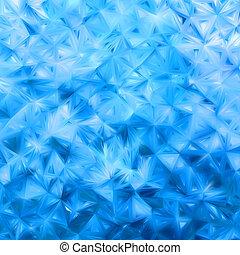 Glow blue mosaic background. EPS 8