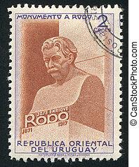 Bust of Jose Enrique Rodo