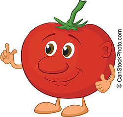 Character tomato