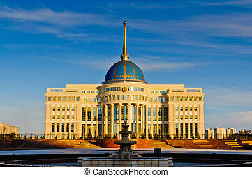 Presidential Palace in Astana - Ak Orda presidential palace...