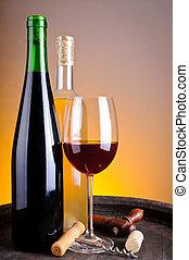 Wine tasting in winery