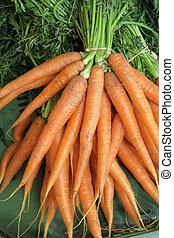 carrots - carrots - a bunch of carrots (carrots) is for sale...