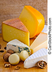 Cheese platter - Still life composition with cheese platter