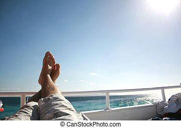 feet high - in the summer vacation and relax are