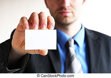 Business card,white