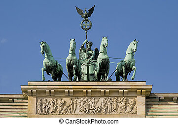 brandenburger gate in berlin - brandenburg gate in berlin,...