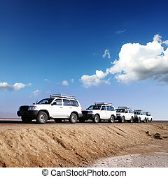 By jeeps with 4 deserts of Africa - travel by jeep over by...