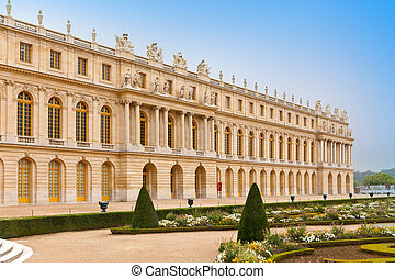 Versailles, France. Palace and park
