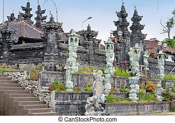 """The biggest temple complex, """"mother of all temples """". Bali,Indonesia. Besakih."""