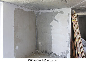 Repair in a house interior construction