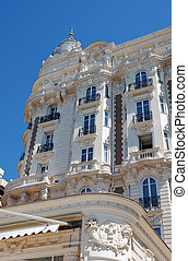 luxurious hotel in Cannes - luxurious hotel on the famous...