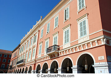 Nice - Historical buildings in the cit of Nice France