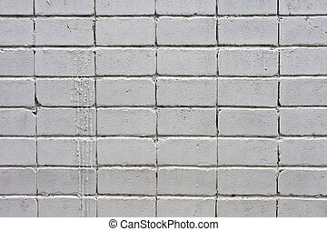 white brick wall - white roughly textured brick wall painted...