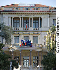 Musee massena in Nice - Museum massena in the city of nice