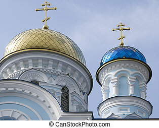 Uspensky church. Maloyaroslavets city. Russia