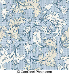 Seamless pattern - Excellent seamless floral background