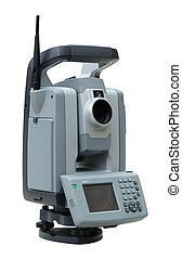 Total station - Geodetic angle and distance measuring...