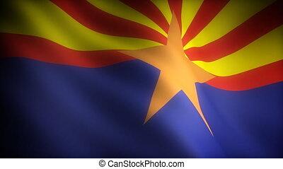 Flag of Arizona seamless