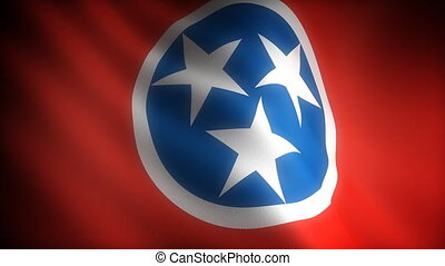 Flag of Tennessee seamless