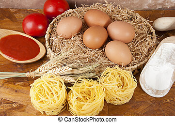 pasta a basso contenuto proteico-pasta low protein -...