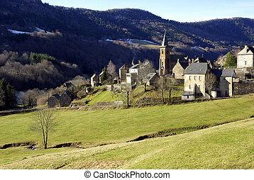 Typical rural village