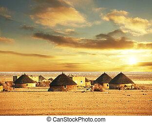African village - african landscapes