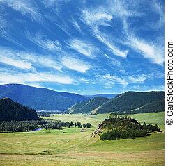 Altai - Mongolian landscapes
