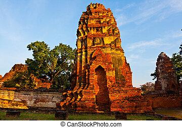 Ayutthaya ruins - Ayutthaya city