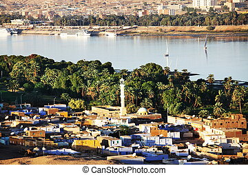 Aswan in Egypt - Aswan city in Egypt