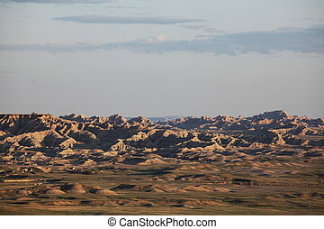 Badlands - badlands landscapes