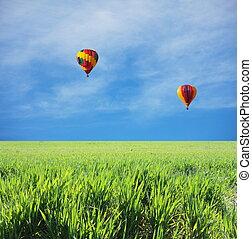 Balloon - Air ballon on festival