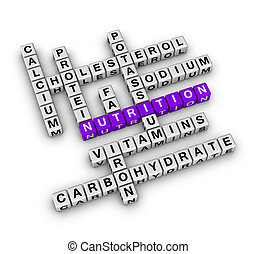 Nutrition Ingredient (cubes crossword series)